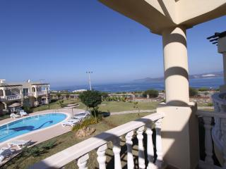 Large balcony with unobstructed views
