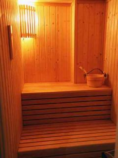 Sauna at Akamas Health Farm
