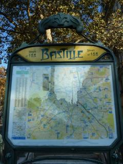Bastille is easily accessible by Métro from all over Paris, including airports