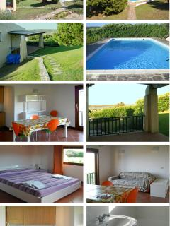 Apartment with private garden and shared pool