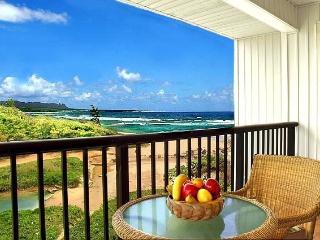 Kauai Beach Villas G6 Deluxe Oceanfront Property, Lihue