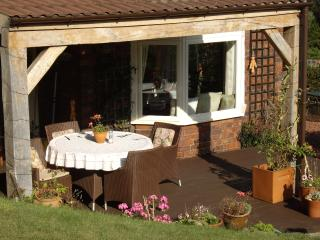 Lovely outside eating area and BBQ