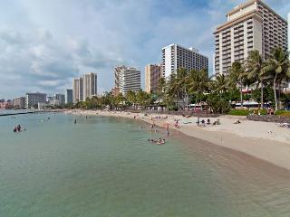 A VERY Short Stroll from Waikiki's Best Beaches!