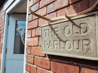 The Old Parlour was once the Milking Parlour for the Farm
