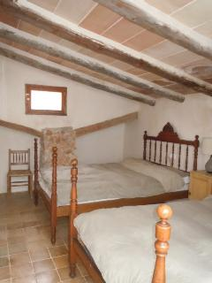 Bedroom 3 with two beds