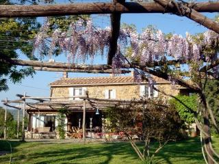 Antica casa di campagna con piscina, Saturnia