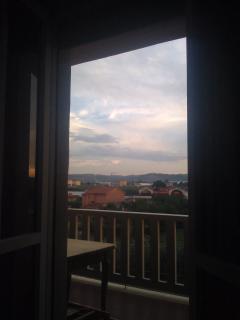 dalla finestra della camera