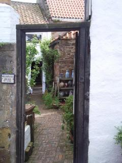 Doorway to Crail Pottery