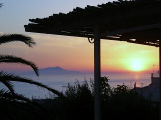 Ischia sunset from our terrace