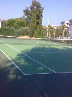 Tennis court in the Residence