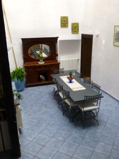 Dining room from staircase