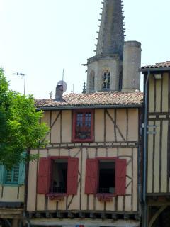 Le Patio, Mirepoix with original timber beams