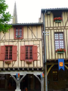 Le Patio, Mirepoix built in 1500