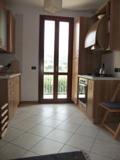 Kitchen & Balcony