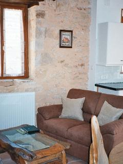 One-Bedroom Gite Sitting Area