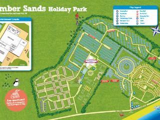 camber sands park resort park map