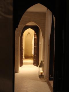 View into livingroom