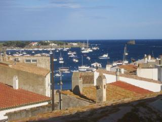 amazing view from an wonderful roofterrace, Cadaques