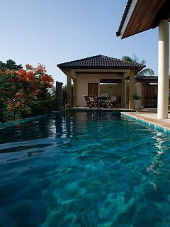 the sala from the pool
