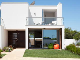 Perspective of one villa
