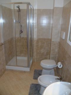 Family Bathroom has a Large Shower Cubicle