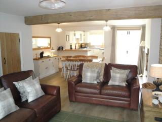 Bright and spacious open plan living