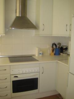 Cocina. A parte podrás encontrar un cuarto de limpieza independiente.