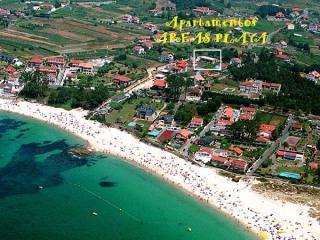 Apartamento de 2 habitaciones en la Playa de Areas, Sanxenxo., Sear