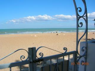 apartamento 1º linea de playa salida al mar [Las marinas]