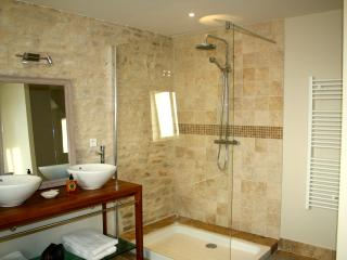 Walk in shower, ensuite to downstairs bedroom