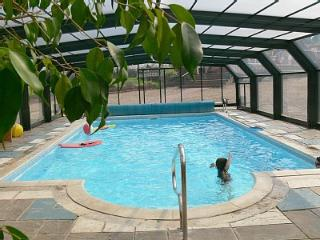 Have fun with the kids in private heated Pool with roman steps leading into water,