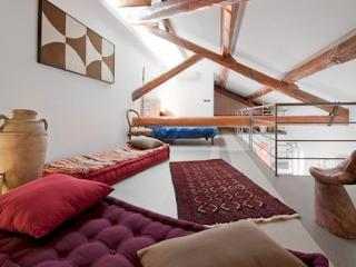 Panoramic loft in the center, Rome