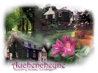 auchencheyne country House, New Galloway