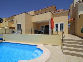 Villa and private pool from the rear