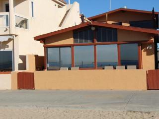 On the beach, Newport Beach