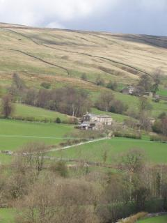 The cottage from the other side of the dale