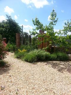 Garden Gate- private entrance