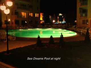 Sea Dreams Pool by night