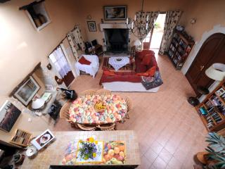 Living room from mezzanine