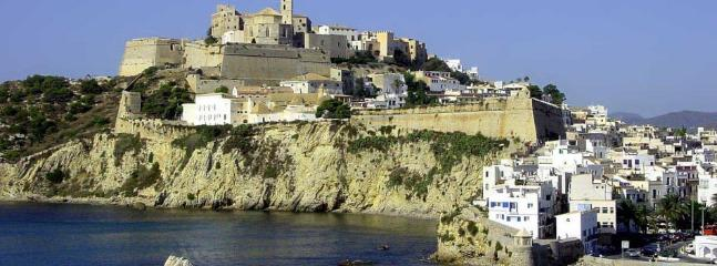 The castle at Ibiza town