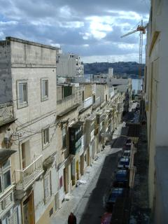 100m down to the sea, shops, restaurants, cafes and the rest of Malta via bus, taxi or ferry boat