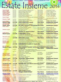 estate a Spongano - programma 2014
