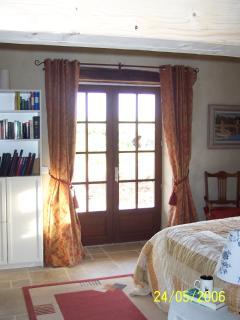 Family bedroom with mezzanine above