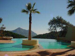 Moroccan themed villa with amazing palm pool, Gaucin