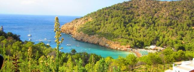Cala Bassa, one of our favourite anchorages next to our port