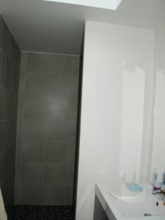 Shower room on first floor