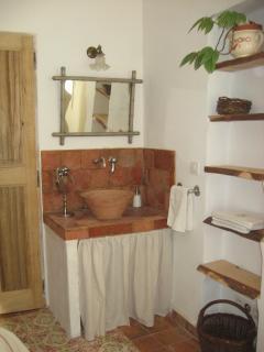 lavabo dans chambre