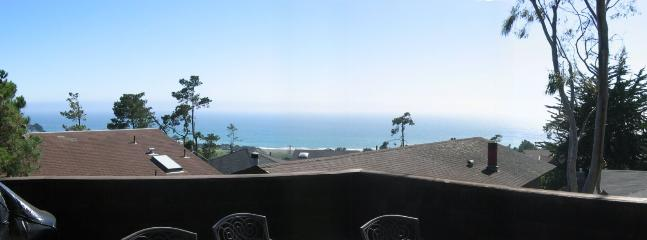 The view from the deck. Sit and watch and listen to the ocean. It is fabulous!