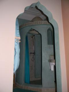 Harem room bathroom