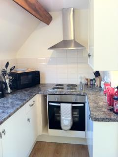 Cotswold View - newly refurbished kitchen with all modern appliances